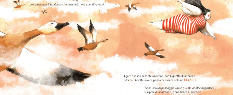 أچاتا تريد أن تطير: أدب تراجيدي للأطفال