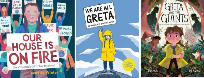 جريتا ثونبرج: بطلة الأدب الاحتجاجيّ للأطفال